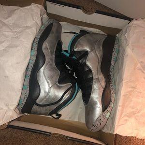 "Air Jordan 10 Retr 30th ""Lady Liberty"" 9.5 W/ Box"